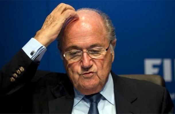 Президент ФИФА Йозеф Блаттер заявил, что подаст в отставку