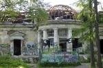 Разрушающийся особняк в Удельном парке, фото: Сергей Ермохин: Фоторепортаж