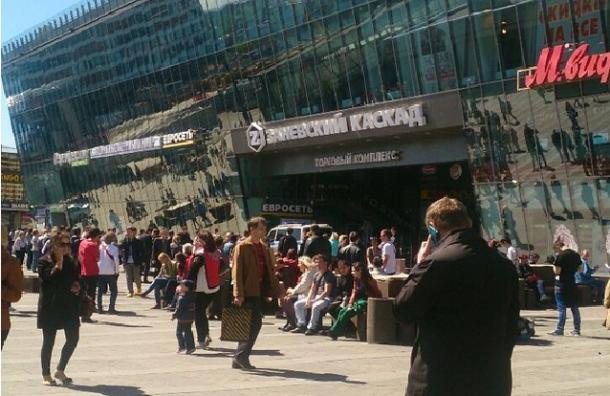 В Петербурге вновь проходит эвакуация ТЦ холдинга «Адамант»