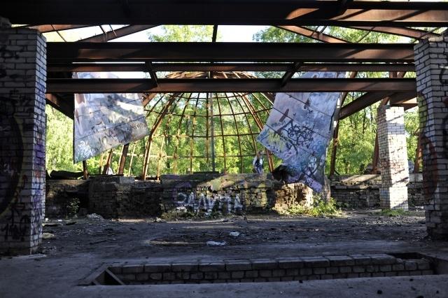 Разрушающийся особняк в Удельном парке, фото: Сергей Ермохин: Фото