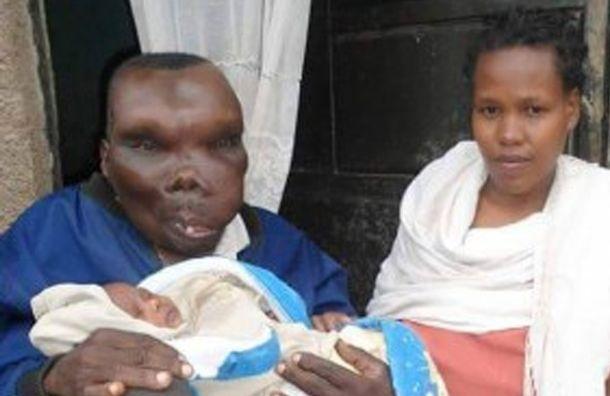 Самый некрасивый мужчина Уганды в очередной раз стал отцом
