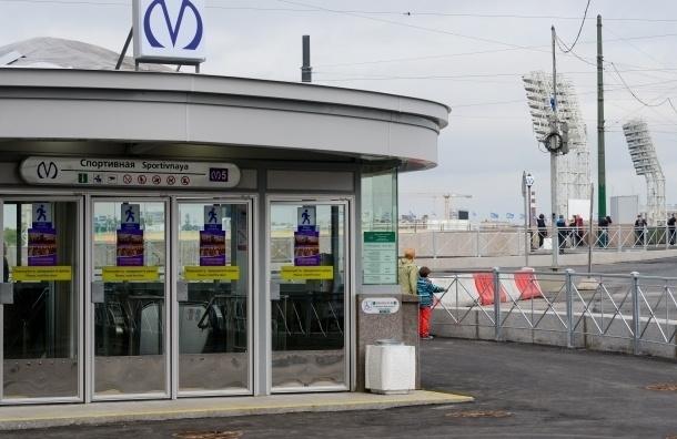 Активисты нашли недоработки, связанные с новым вестибюлем станции метро «Спортивная»