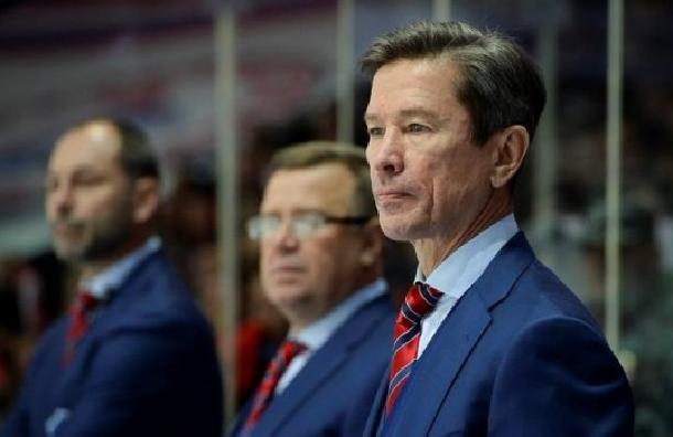 Вячеслав Быков покинул пост тренера ХК СКА
