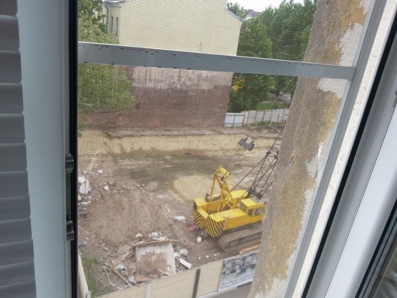 Вид из окна аллергологичского отделения Детской больницы №2