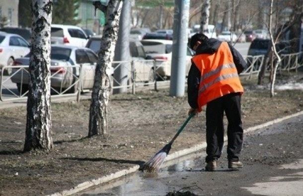 Из-за сокращения бюджета Петербургу грозит плохая уборка дорог