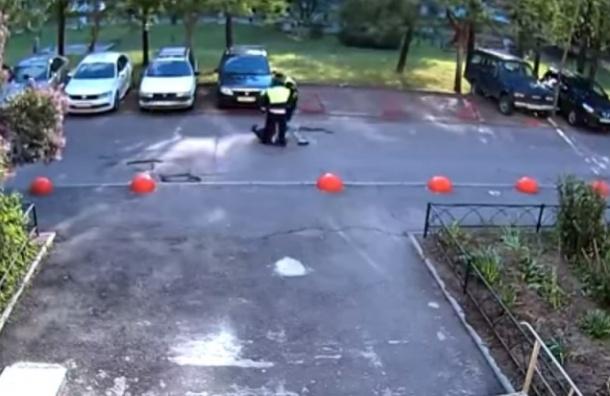 В Петербурге уволили семь полицейских за избиение нарушителя ПДД