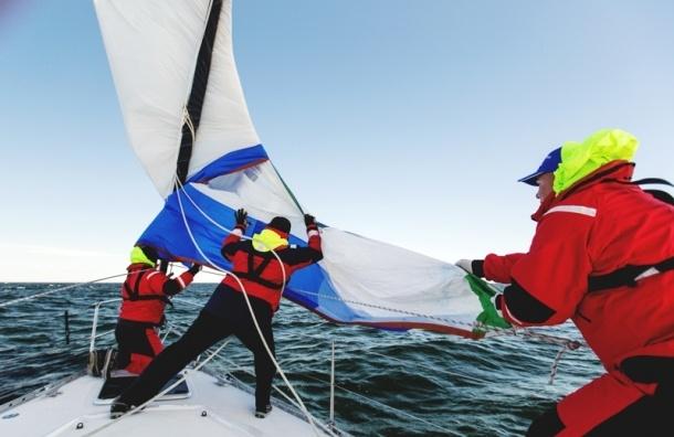 Международная балтийская регата «Кубок Усть-Луги» началась