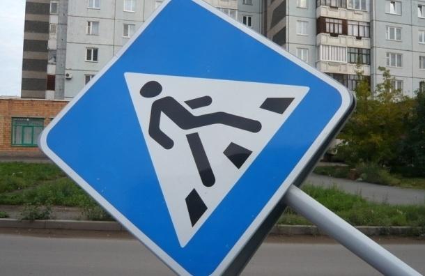 В Петербурге сотрудник полиции сбил пенсионерку на «зебре»