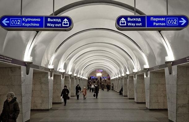 На два месяца изменяется работа вестибюля станции «Проспект Просвещения»