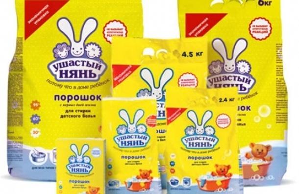 В Петербурге запрещены к продаже детские порошки «Ушастый нянь»
