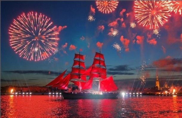 В Петербург прибыл шведский парусник Tre Kronor для участия в «Алых парусах»
