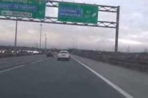 Очевидцы: на КАД у женщины прямо в автомобиле начались роды