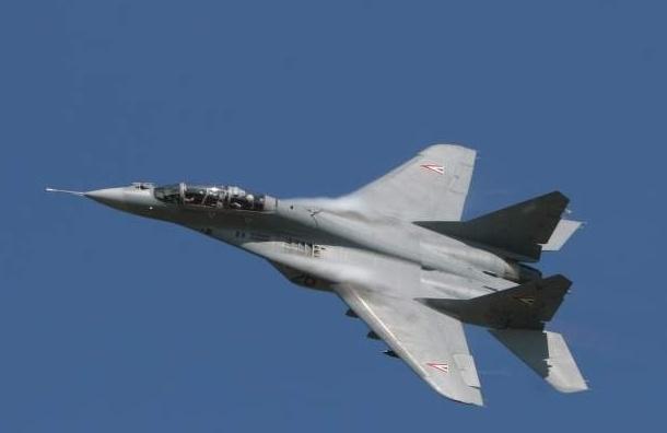 На Кубани в районе станицы Кущевская упал МиГ-29