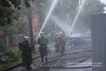 Фоторепортаж: «Пожар в Московском районе, 8.07.15»