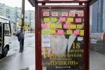 Реклама борделей на Проспекте Просвещения, фото: МР, Сергей Ермохин: Фоторепортаж