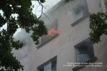 Пожар в Московском районе, 8.07.15: Фоторепортаж