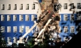 В Омске обрушилась казарма ВДВ, фото: Фоторепортаж