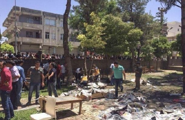 Жертвами взрыва на границе Сирии и Турции стали 20 человек