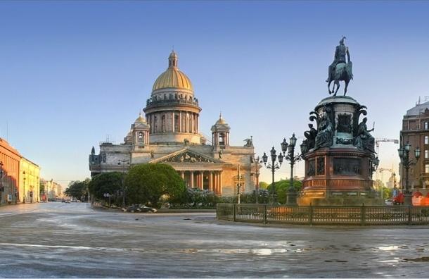 Исаакиевскую площадь начнут ремонтировать с 1 августа