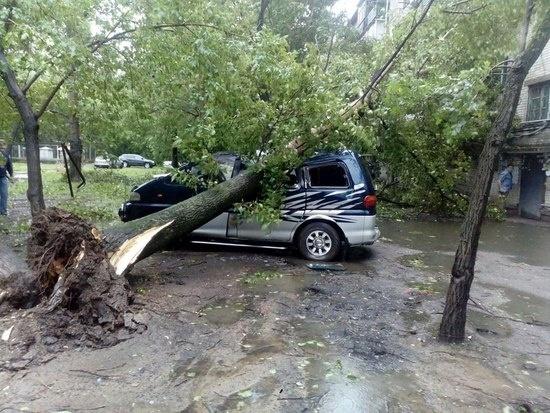 Тайфун в Хабаровске, 14.07.15: Фото