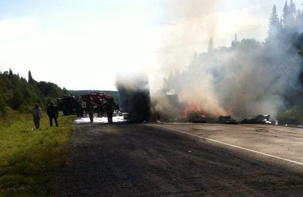 Две аварии в России унесли жизни более 20 человек