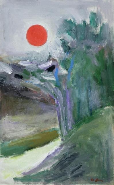 Юрий Ларин. Солнце над Кратовом. 2002.