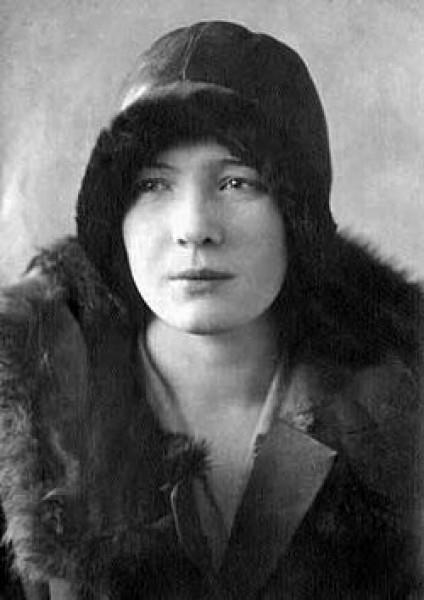Ольга Берггольц в 1930 году
