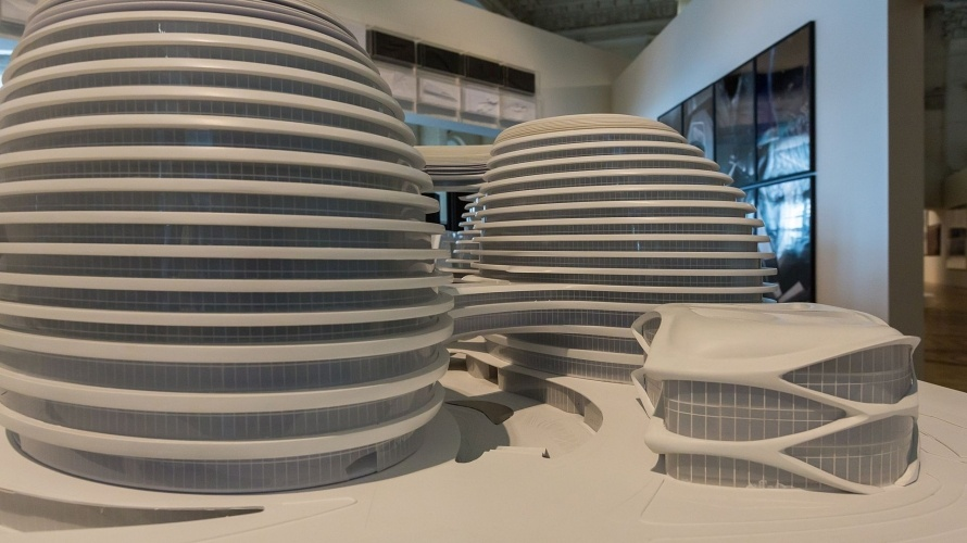 Комплекс Galaxy SOHO в Пекине_Архитектор Заха Хадид