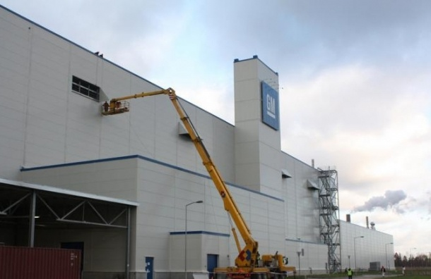 General Motors окончательно приостановил работу на заводе в Петербурге
