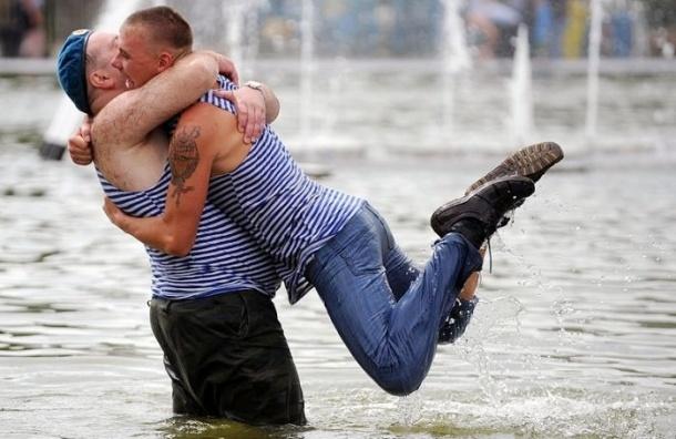 В День ВДВ в Петербурге отключат несколько фонтанов