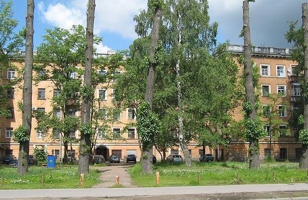 Администрация района разбирается, как упал кирпич на голову петербуржцу