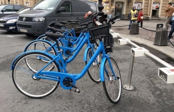 Сеть общественного велопроката перестала работать в Северной столице