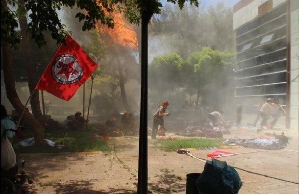 Мощный взрыв в турецком городе Суруч: минимум 10 погибших и около 45 пострадавших