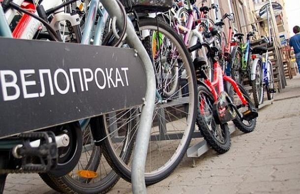 Велопрокат в Петербурге возобновил свою работу