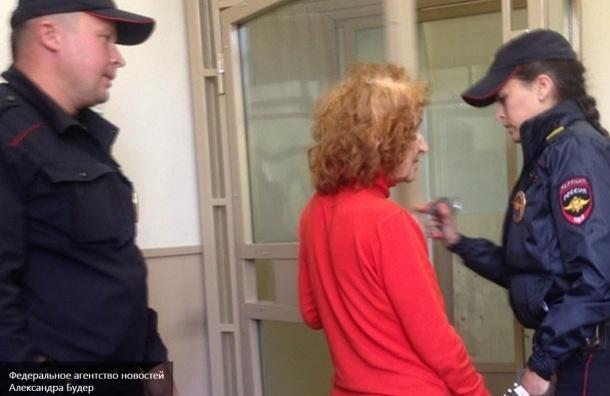 Бабушку-потрошительницу из Петербурга пока не доставили в СИЗО