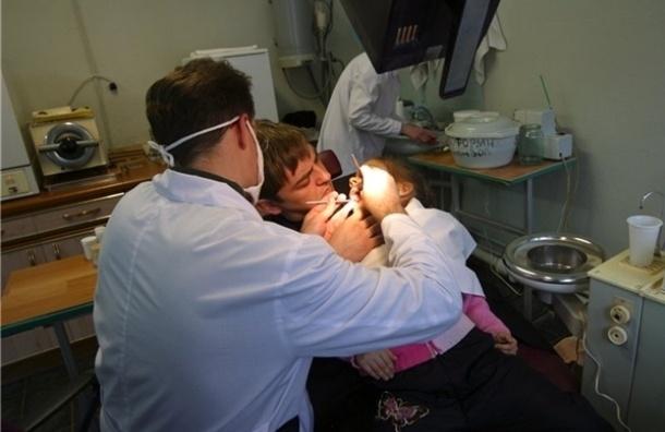 В очереди за бесплатным детским стоматологом