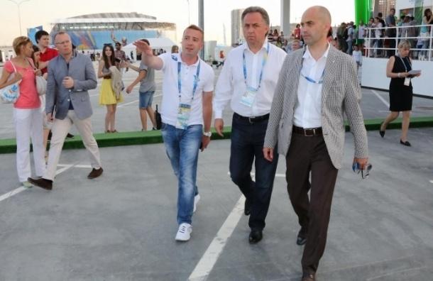 Парк ФИНА оценил министр спорта Виталий Мутко