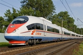 В Петербурге скоростной поезд «Сапсан» сбил мужчину