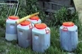 В Ленобласти в гараже нашли лабораторию по производству бутирата