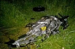 В лобовом ДТП на Мурманском шоссе байкеру оторвало ногу