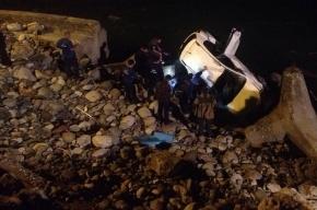 В Абхазии в пропасть упал автомобиль с туристами из Липецка: пропал ребенок