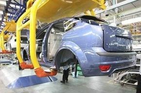 В Петербурге автозаводы сократили производство машин на 20%