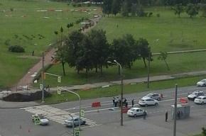 В Петербурге насмерть сбили женщину-пешехода