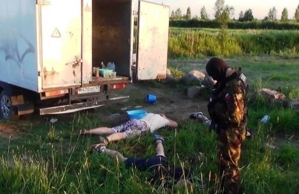 В Ленобласти наркодилеры готовили амфетамин в кузове «ГАЗели»