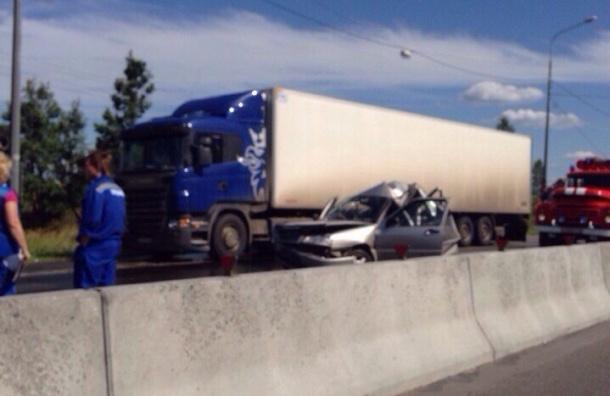 Двое погибли в страшном ДТП на Московском шоссе