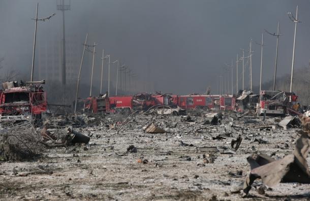 В Китае произошел страшный взрыв на химзаводе: более 700 пострадавших