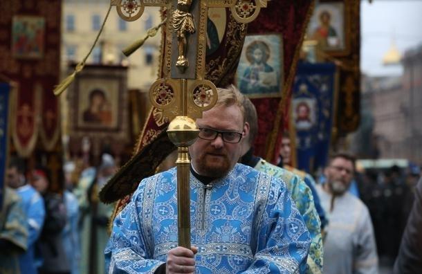 По Невскому проспекту снова пройдет Крестный ход