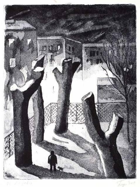 _А. Бодров, Спиленные деревья. 2000. andreybodrov.ru