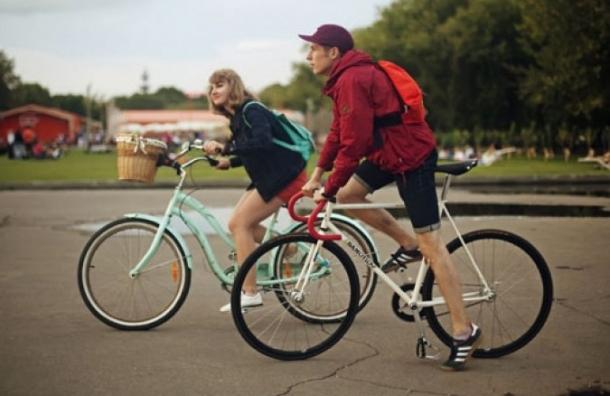 В Выборгском районе пройдет велопробег ко Дню российского флага