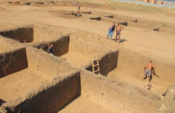 Петербургские археологи нашли в Крыму амфоры с нефтью